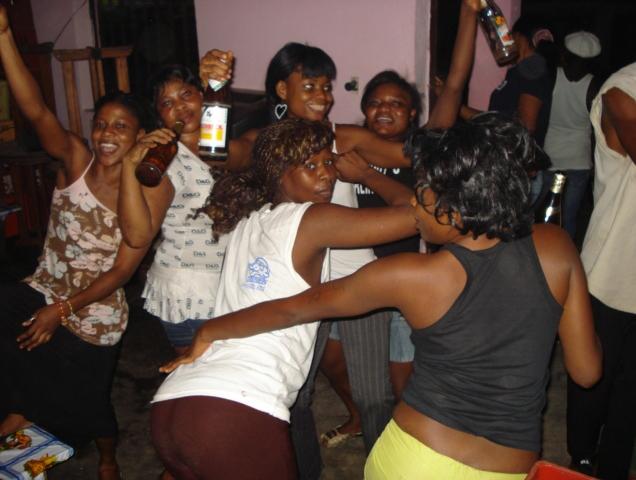 Patrick Wokmeni, Les Belles de New-Bell, Douala, 2008