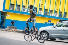 Max Mbakop, from the BMX series (2016). Courtesy the artist.