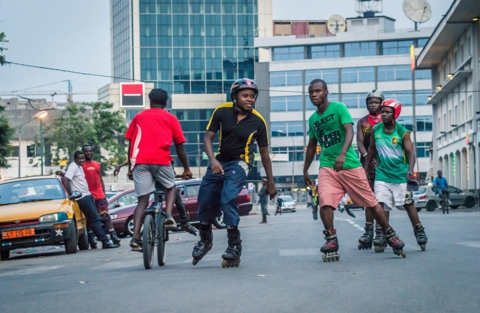 © Max Mbakop, skaters and BMX series.