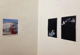 Oeuvres d'Amine Oulmakki, série Intérieur/Nuit, 2016.