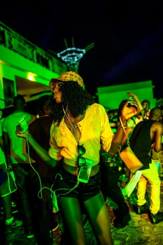 Andrew Esiebo, Reveller at Quilox nightclub pool party in Lekki, an up-market district of Lagos.