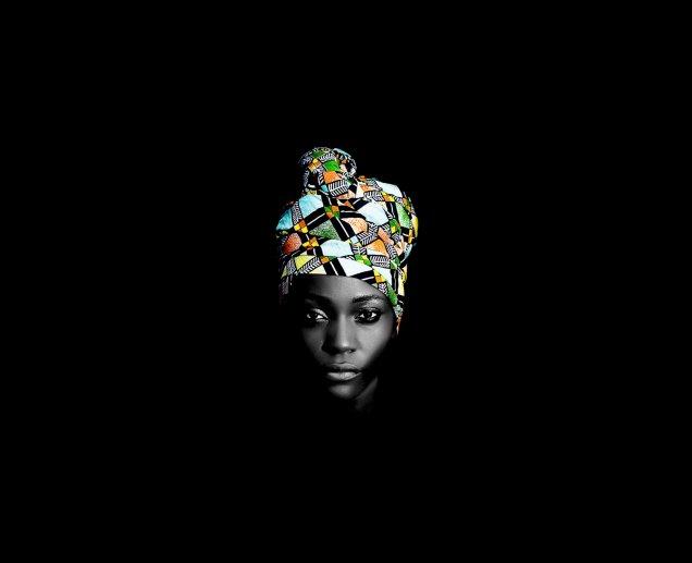 Steve Mvondo, série Crown of Beauty, 2016.