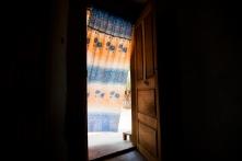 Mirabelle's home in Abou Boutila. © Dominique Catton.