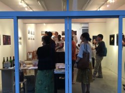 Visitors arriving to OGU MAG Gallery. Image: Arakawa Africa.