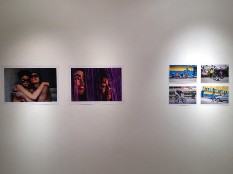 Left: work by Romuald Dikoume. Right work by Max Mbakop. Image: YaPhoto.