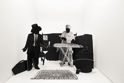 Lebohang Kganye, from the series Reconstruction of a Family, 2017. Copyright Lebohang Kganye, Courtesy AFRONOVA GALLERY. Presented as part of Digital Africa (Tokyo).