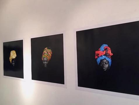 Steve Mvondo, Crown of Beauty, 2016. Image: Hideo Miura.