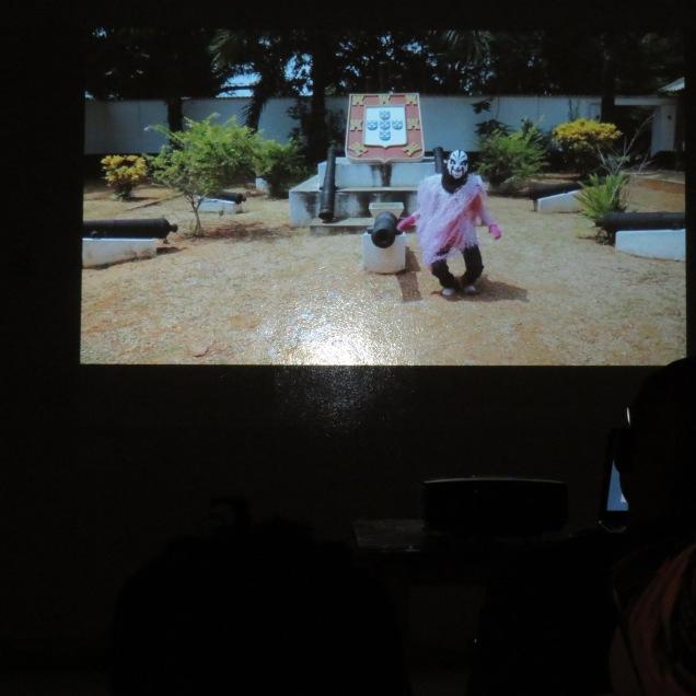 Emos de Medeiros, still from Kaleta/Kaleta, screened at OTHNI as part of Digital Africa.