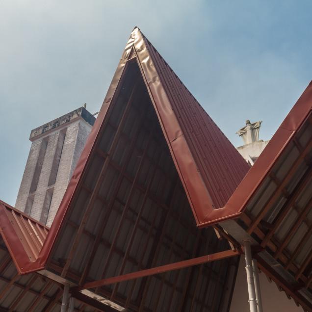 Catholic church. Pete area. © Yvon Ngassam.