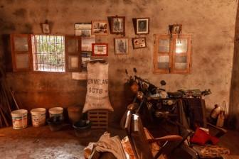 Farmer's home. Kamgo area. © Yvon Ngassam.
