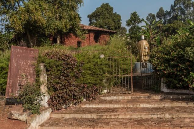 Statue of King Kamga II. Bandjoun Superior Chiefdom. © Yvon Ngassam.