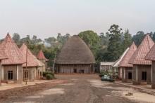 View of the Sacred Hut. Bandjoun Superior Chiefdom. © Yvon Ngassam.